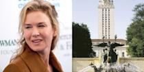 <p><strong>University of Texas at Austin</strong></p><p>Zellweger graduated from the University of Texas at Austin in 1991 with a B.A. in English. While there, she took a drama course as an elective, which sparked her interest in acting. <br></p>