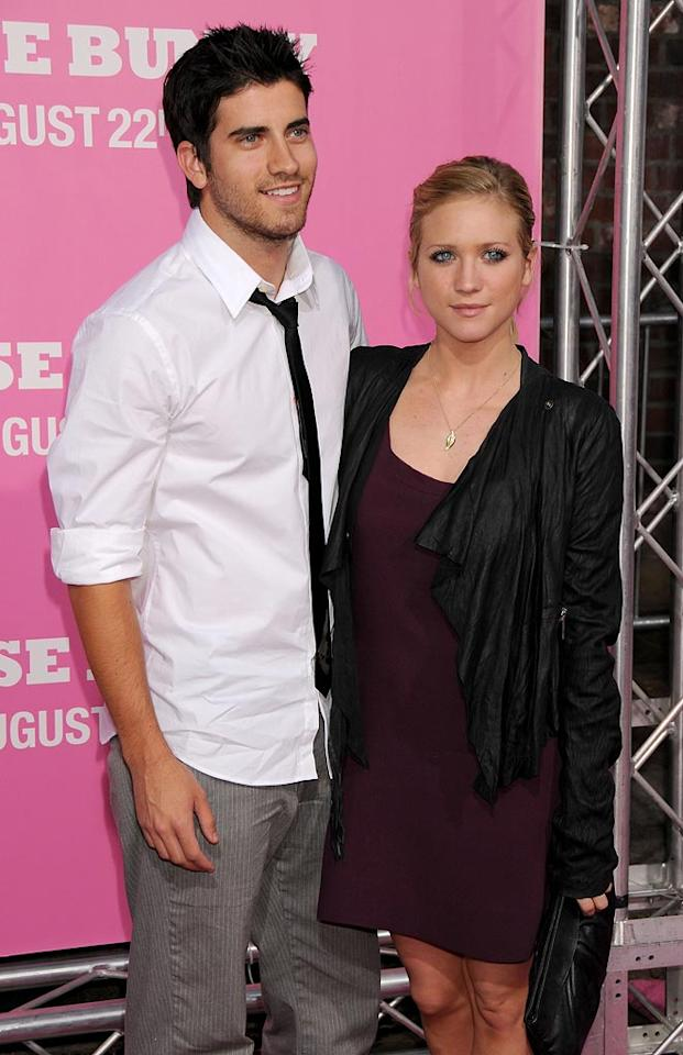 """<a href=""""http://movies.yahoo.com/movie/contributor/1807455293"""">Brittany Snow</a> and guest at the Los Angeles Premiere of <a href=""""http://movies.yahoo.com/movie/1809921361/info"""">The House Bunny</a> - 08/20/2008"""