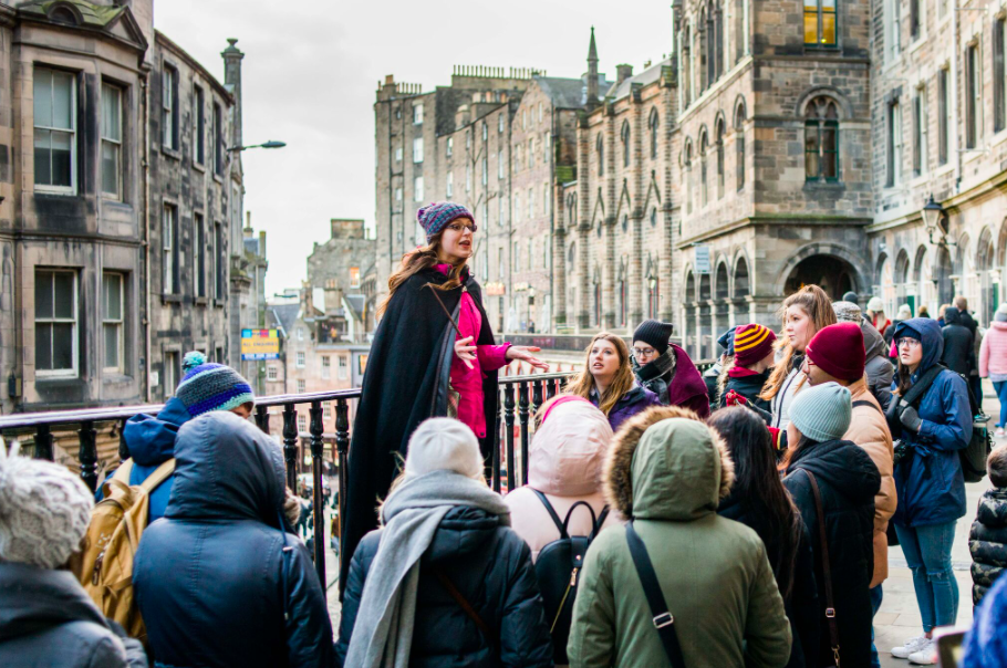 """<p>Potter heads, now is your chance to seize your wand, robe up and join other like-minded wizard and witches on a tour of Edinburgh specifically designed for fans of the famous series. <br></p><p>JK Rowling wrote much of the Harry Potter series in Edinburgh and this <a href=""""https://www.pottertrail.com/home"""" rel=""""nofollow noopener"""" target=""""_blank"""" data-ylk=""""slk:Potter Trail"""" class=""""link rapid-noclick-resp"""">Potter Trail</a> will take you on a magical journey of all the spots that the author used for inspiration, from the influences behind characters and spots that inspired scenes. Plus, you might even learn a spell or two on your journey!</p><p>Everyone on the tour (including guides) must wear masks at all times, tour numbers are limited and social distancing are adhered to where possible throughout the tour. </p><p>Fancy dress optional! </p>"""