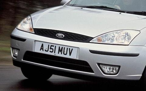 Sidelights of a Ford Focus
