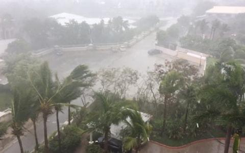 Hurricane Irma descends on Providenciales, in the Turks and Caicos Islands - Credit: Reuters