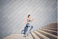 """<p>Exercise does just as much for your mind as it does for your muscles. """"Blend or alternate aerobics with <a href=""""https://www.prevention.com/fitness/fitness-tips/a26765994/benefits-of-lifting-weights/"""" rel=""""nofollow noopener"""" target=""""_blank"""" data-ylk=""""slk:strength training"""" class=""""link rapid-noclick-resp"""">strength training</a>, <a href=""""https://www.prevention.com/fitness/a20515035/benefits-of-stretching-every-day/"""" rel=""""nofollow noopener"""" target=""""_blank"""" data-ylk=""""slk:stretching"""" class=""""link rapid-noclick-resp"""">stretching</a>, flexibility, and agility exercises for an endorphin boost,"""" suggests Kathleen Hall, PhD, founder and CEO of <a href=""""https://mindfullivingnetwork.com/"""" rel=""""nofollow noopener"""" target=""""_blank"""" data-ylk=""""slk:The Mindful Living Network"""" class=""""link rapid-noclick-resp"""">The Mindful Living Network</a> & <a href=""""https://stressinstitute.com/"""" rel=""""nofollow noopener"""" target=""""_blank"""" data-ylk=""""slk:The Stress Institute"""" class=""""link rapid-noclick-resp"""">The Stress Institute</a>. Up the ante by making your sweat sesh social. One <a href=""""https://www.ncbi.nlm.nih.gov/pubmed/29084328"""" rel=""""nofollow noopener"""" target=""""_blank"""" data-ylk=""""slk:study"""" class=""""link rapid-noclick-resp"""">study</a> found that people who participated in group exercise saw greater improvements in mental, physical, and emotional health than those who worked out solo.</p>"""