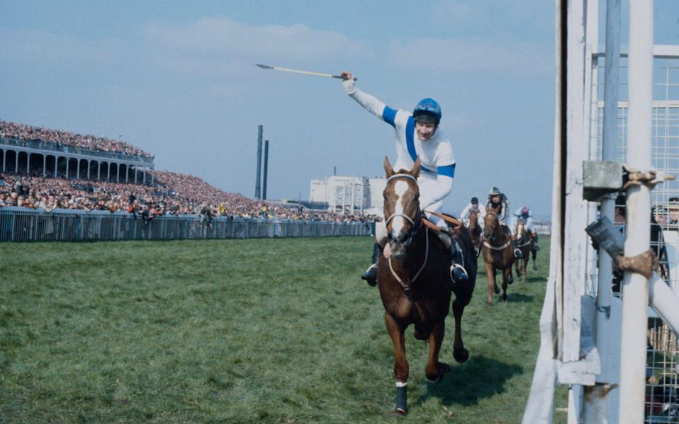Bob Champion won the 1981 Grand National on Aldaniti two years after being diagnosed with cancer - Bob Thomas Sports Photography via Getty Images