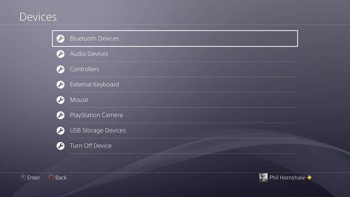 how to sync a playstation 4 controller settings bluetooth devices