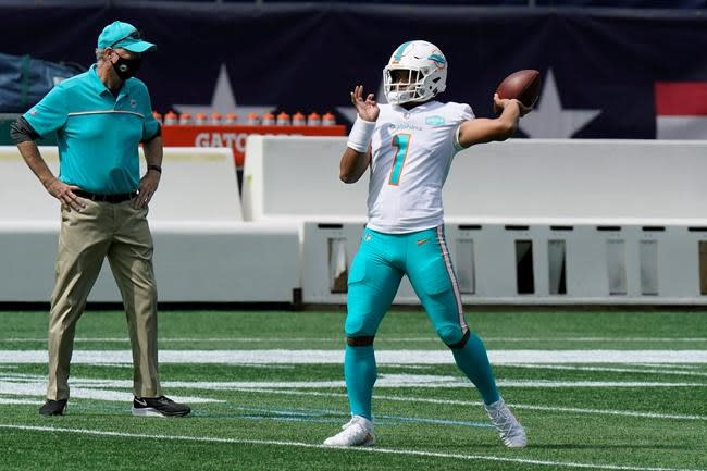 QB Fitzpatrick was far from Dolphins' only problem in opener