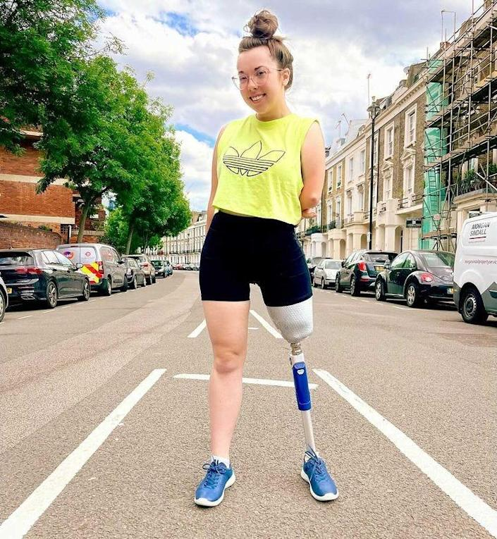 Jessica Ping-Wild has CHILD syndrome, a rare disorder that results in limb underdevelopment or absence. This Disability Pride Month she's focused on amplifying voices of people with disabilities.