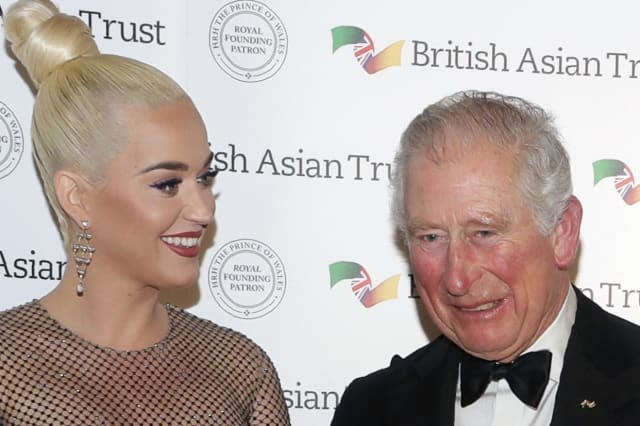 Prince of Wales asks pop princess Katy Perry to sing to his plants