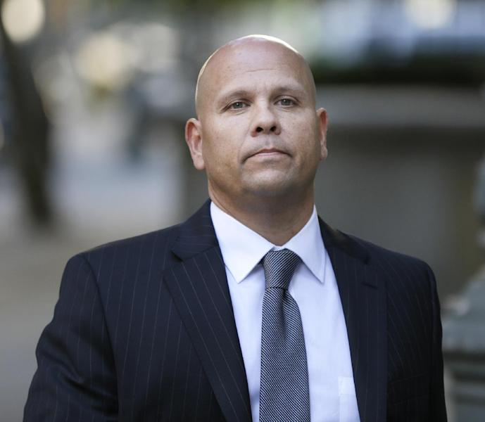 FILE - In this Oct. 8, 2013 file photo, George Perez, former computer programmer at Bernard L. Madoff Investment Securities, arrives to federal court in New York. Perez and four other back-office subordinates of Madoff are accused of aiding the disgraced financier in one of history's biggest frauds. Opening statements by defense lawyers are slated to begin Thursday, Oct. 17, 2013. (AP Photo/Seth Wenig, File)