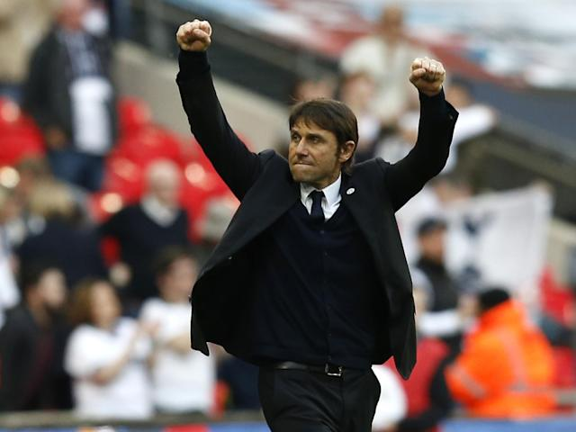 Conte likened this season to his first in charge of Juventus: Getty