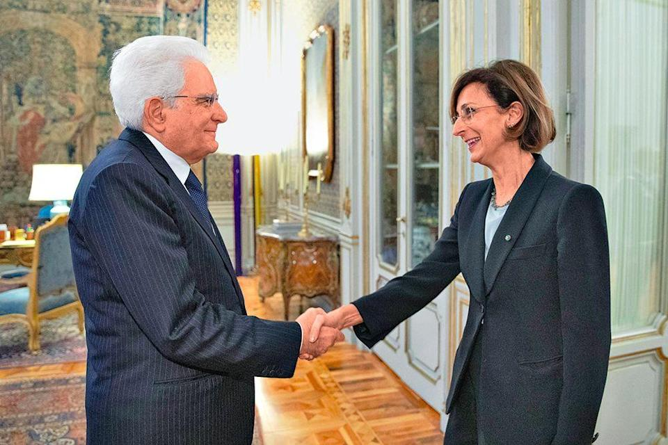 Photo credit: Marta Cartabia con il presidente Mattarella