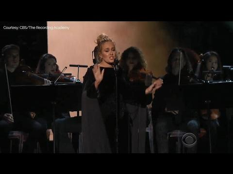 "<p>During Adele's tribute to George Michael, she swore and asked to start the song again. No one minded though, because, ya know, it's Adele.</p><p><a href=""https://www.youtube.com/watch?v=skbO3H0604o"" rel=""nofollow noopener"" target=""_blank"" data-ylk=""slk:See the original post on Youtube"" class=""link rapid-noclick-resp"">See the original post on Youtube</a></p>"