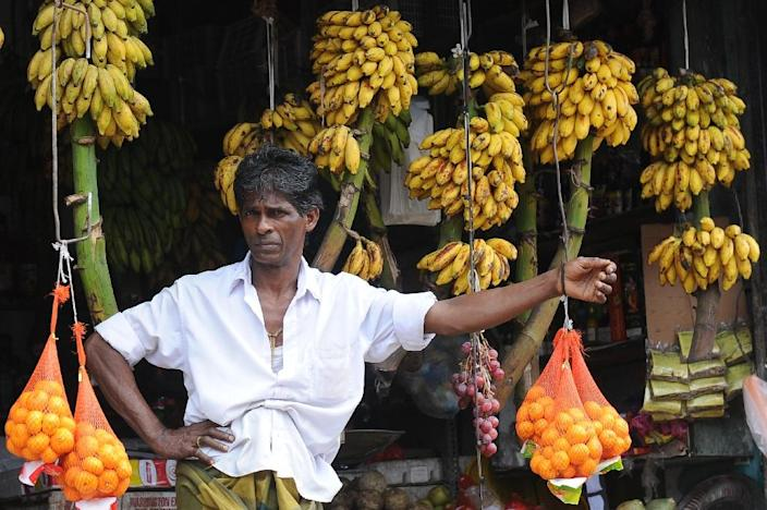 Srii Lanka's government received $2.6 billion from the IMF in 2009 to boost its financial reserves, which had dropped below $1 billion at the height of fighting between Tamil Tiger rebels and government forces (AFP Photo/Lakruwan Wanniarachchi)