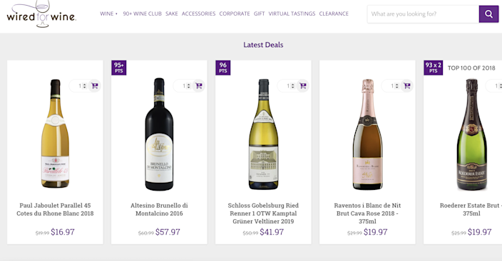 With a large selection of affordable wine and liquor, you'll be prepped for your virtual party.