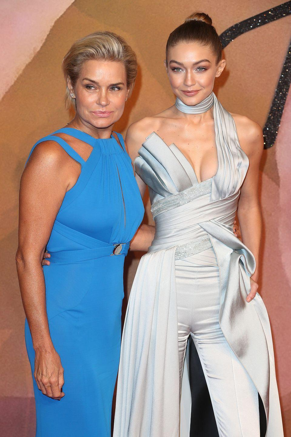 <p>A model herself, Yolanda Hadid passed down her stunning Dutch looks (and modeling chops) to her eldest daughter, Gigi. <br></p>