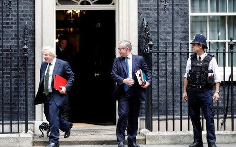 Boris Johnson and Michael Gove - Credit: Phil Noble /Reuters