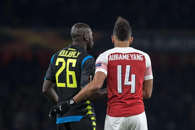 Arsenal vs Napoli: Gunners investigating allegations of racist abuse against Kalidou Koulibaly