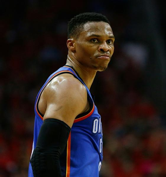 Oklahoma City's Russell Westbrook finished with 47 points, 11 rebounds and nine assists