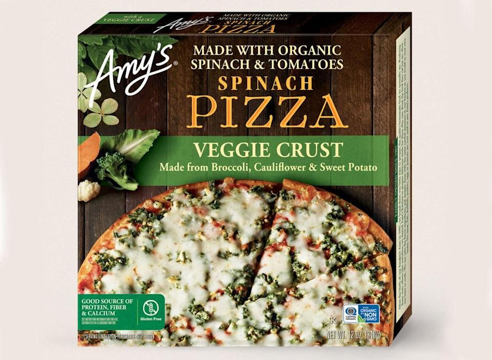 amys spinach pizza