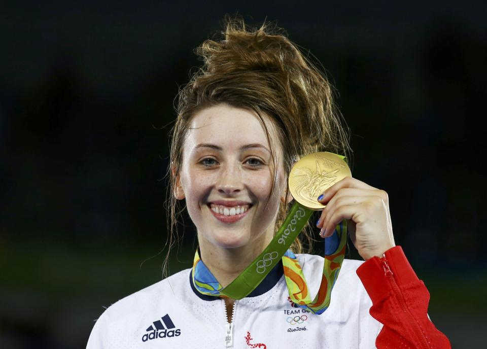 Jade Jones is aiming for a third Olympic gold in Tokyo (Picture: Peter Cziborra / Reuters)