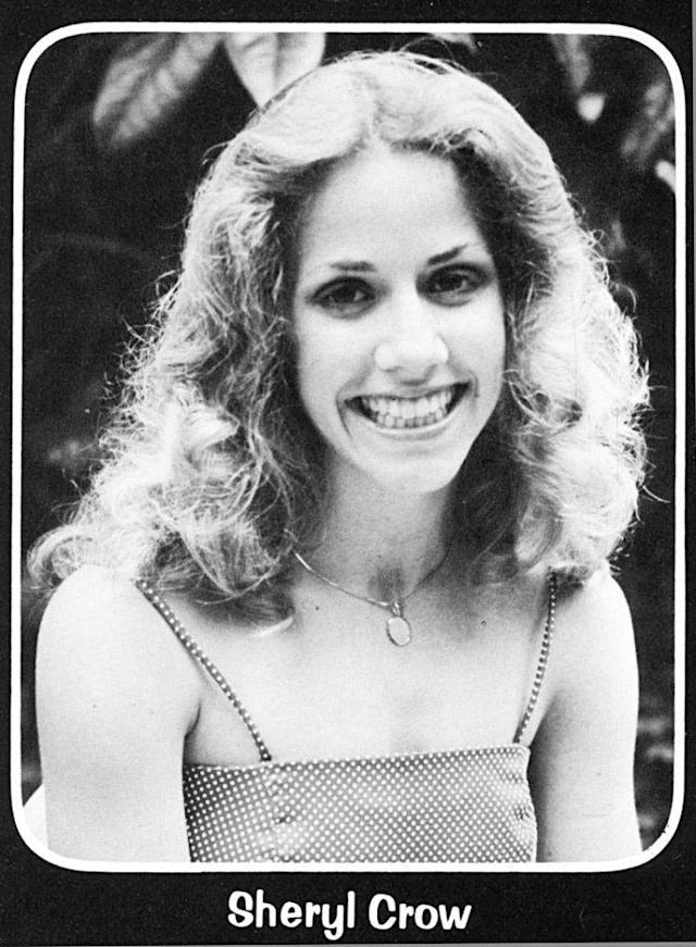 "<p>Singer Sheryl Crow made her own dress for her 1980 senior prom at Kennett High School in her hometown of Kennett, Mo. Her date, Brian Mitchell, <a href=""http://www.semissourian.com/story/53840.html"" rel=""nofollow noopener"" target=""_blank"" data-ylk=""slk:reminisced about the evening"" class=""link rapid-noclick-resp"">reminisced about the evening</a> in an interview with the local newspaper in 2001. ""She was extremely proud of [having made the dress], and nobody knew it,"" Mitchell said. ""It was the prettiest dress on the prettiest girl there."" To top it all off, Crow was named prom princess. (Photo: Seth Poppel/Yearbook Library) </p>"
