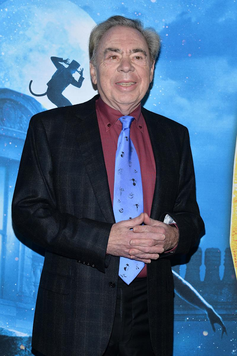 Andrew Lloyd Webber attends the World Premiere of �CATS� at Alice Tully Hall in New York, NY, December 16, 2019. (Photo by Anthony Behar/Sipa USA)