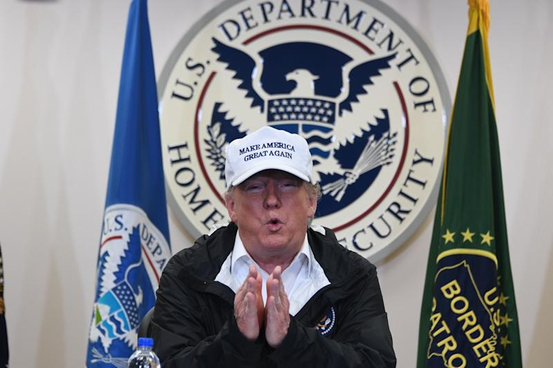 President Donald Trump declaring a national emergency to build a border wall may be the easiest way to end the partial government shutdown. (Photo: JIM WATSON via Getty Images)