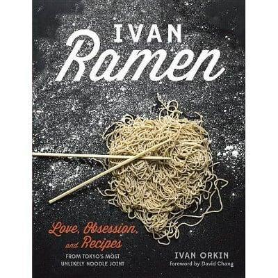 <p>After watching his episode on Chef's Table, I immediately had to grab <span><strong>Ivan Ramen</strong> by Ivan Orkin</span> ($20). While I'm still missing some ingredients to make his savory ramen, I'm excited to get through winter with this cookbook.</p>