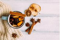 """<p>Trade your typical glass of vino for a popular European winter beverage: warm red wine infused with spices like cinnamon and clove. </p><p><em>Learn how to make mulled wine at <a href=""""https://www.gimmesomeoven.com/mulled-wine-recipe/"""" rel=""""nofollow noopener"""" target=""""_blank"""" data-ylk=""""slk:Gimme Some Oven"""" class=""""link rapid-noclick-resp"""">Gimme Some Oven</a>.</em></p><p><a class=""""link rapid-noclick-resp"""" href=""""https://www.amazon.com/Lush-Wine-Mix-Organic-Cocktails/dp/B00QJFLWSE?tag=syn-yahoo-20&ascsubtag=%5Bartid%7C10072.g.34454588%5Bsrc%7Cyahoo-us"""" rel=""""nofollow noopener"""" target=""""_blank"""" data-ylk=""""slk:SHOP MULLED WINE MIX"""">SHOP MULLED WINE MIX</a></p>"""