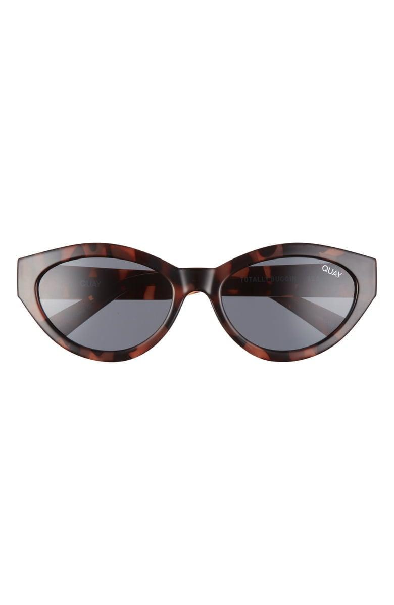 <p>These <span>Quay Australia x Lizzo Totally Buggin 49mm Gradient Cat Eye Sunglasses</span> ($55) are both classic and modern. They also come in a fun hot pink!</p>