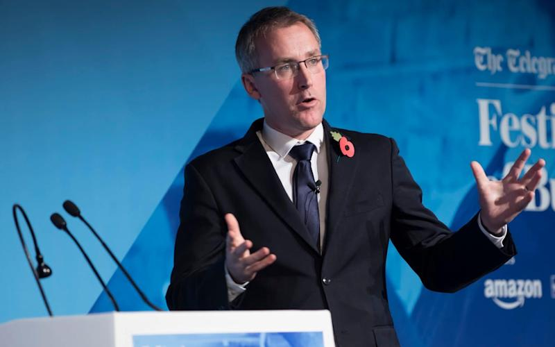 Ciaran Martin - the head of the National Cyber Security Centre (NCSC) - will give a speech to tech chiefs - TMG