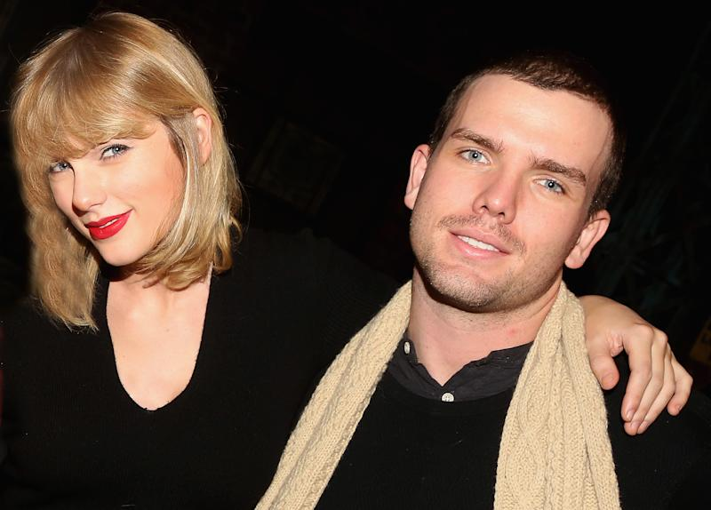 Taylor Swift and brother Austin Swift in 2016. (Photo: Bruce Glikas/Bruce Glikas/Getty Images)