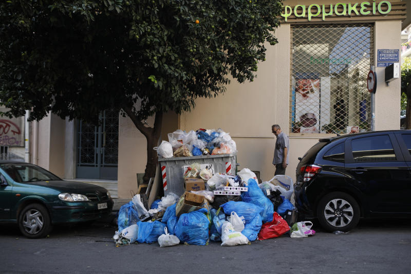 Greece Garbage