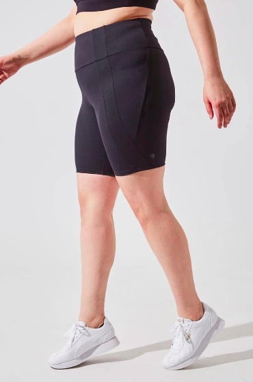 Rider Ultra-High Waisted Recycled Nylon Biker Short (Photo via MPG)