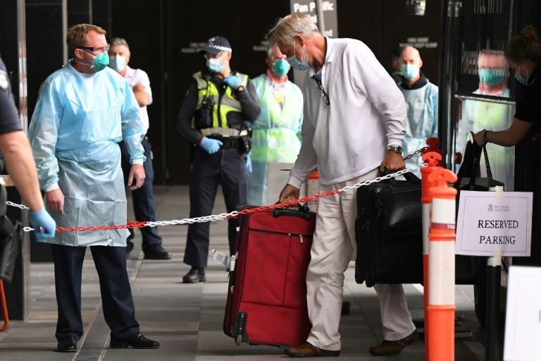 Australia has scooped up travellers at airports and shuttled them to quarantine hotels in a system that has kept the country relatively coronavirus-free