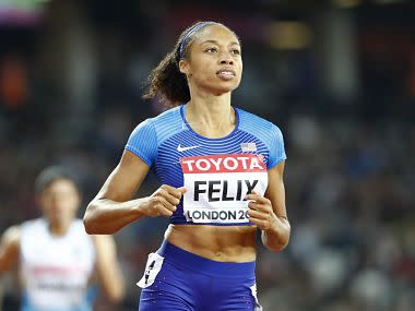 Six-time Olympic champion Allyson Felix joins fellow US stars in criticizing Nike's maternity ploicy