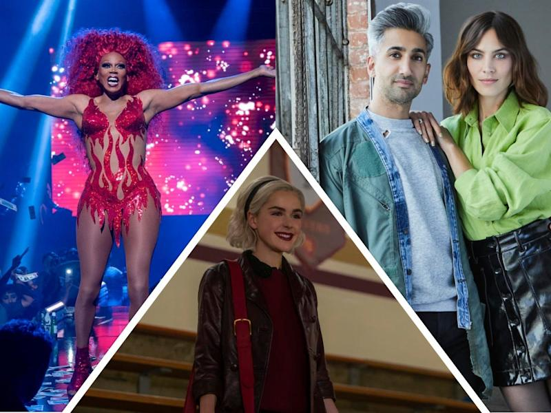 "RuPaul's ""AJ and the Queen,"" new episodes of Kiernan Shipka's ""Chilling Adventures of Sabrina"" and Tan France and Alexa Chung's ""Next in Fashion"" will all be available on Netflix in January."