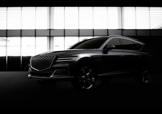 Genesis publishes first official photos of brand's first SUV