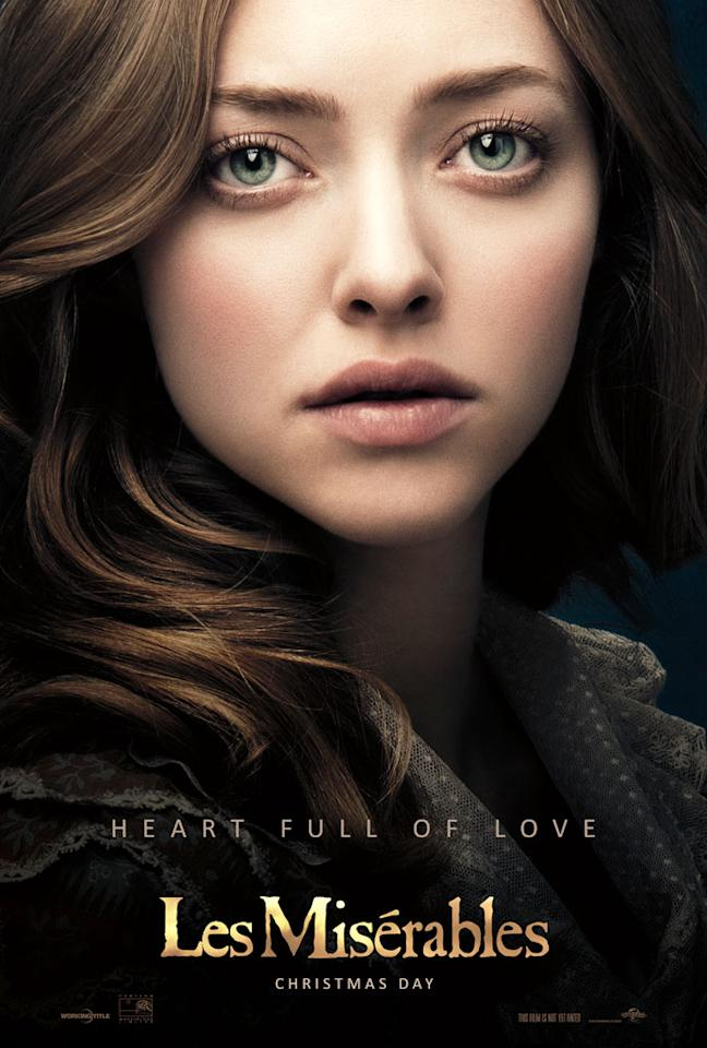 """Amanda Seyfried as Cosette in Universal Pictures' """"Les Miserable"""" - 2012"""