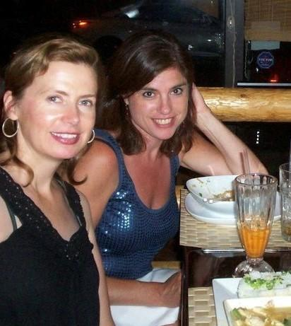 Susan Ledyard and her best friend, Megan Doherty (Courtesy of Morrissey Family)
