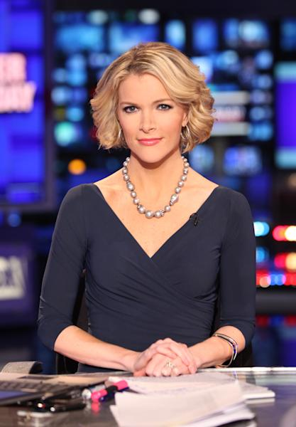 In this March 6, 2012 photo provided by Fox News, Fox News anchor Megyn Kelly is seated at the anchor desk at the Fox studios in New York. Starting Monday, Aug. 27, 2012, in Tampa, Fla., she'll be in Fox's booth as co-anchor with Bret Baier for the 2012 meetings. (AP Photo/Fox News, Alex Kroke)