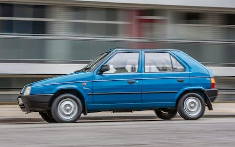 Skoda Favorit (1991) - Credit: Andrew Crowley