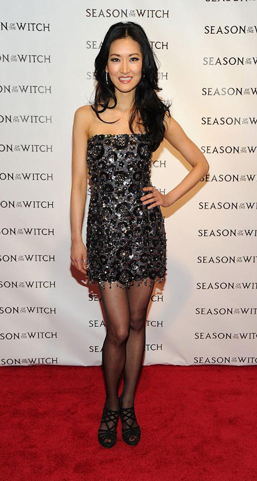 """Kelly Choi at the New York City premiere of <a href=""""http://movies.yahoo.com/movie/1810055815/info"""">Season of the Witch</a> on January 4, 2010."""