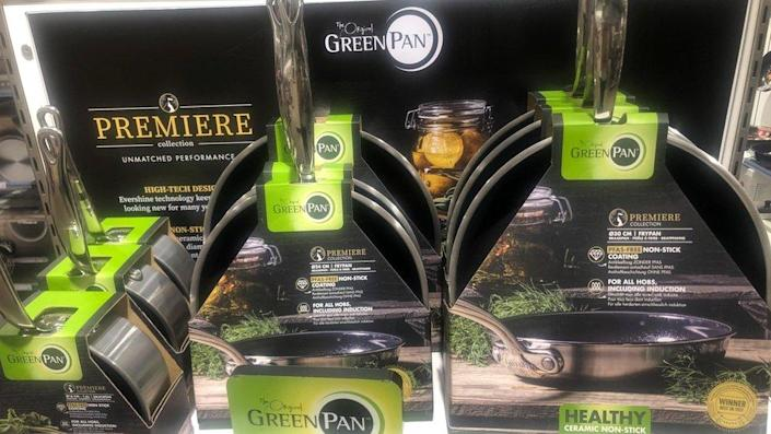 Greenpan is one of the companies specialising in PFA-free pans
