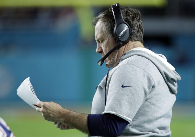 The Patriots looked like dirt last week, but Bill Belichick is on to Pittsburgh (AP/Lynne Sladky)
