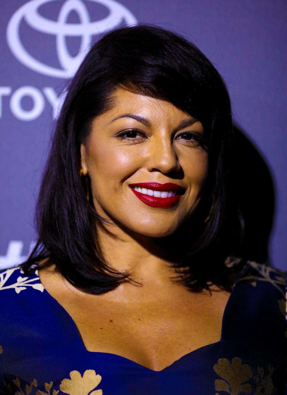 Sara Ramirez attends the celebration of ABC's TGIT Line-up held at Gracias Madre on September 26, 2015 in West Hollywood, California. (Photo by Mark Davis/Getty Images)