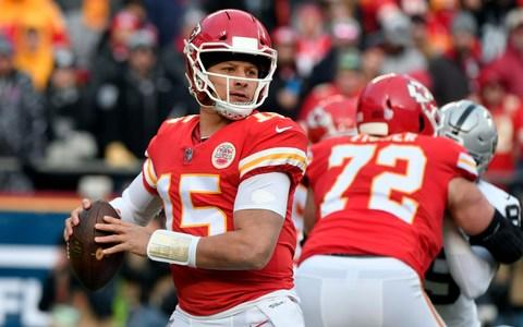 <span>Patrick Mahomes is ready for his first shot at the playoffs</span> <span>Credit: AP </span>