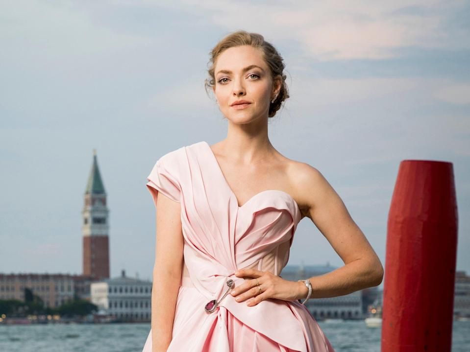 Amanda Seyfried poses for a portrait during the 76th Venice Film Festival on 30 August 2019 in Venice, Italy (Tristan Fewings/Getty Images for Jaeger-LeCoultre)