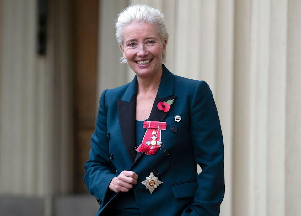 <p>Thompson was appointed a Dame Commander of the Order of the British Empire (DBE) by Prince William in November 2018.</p>