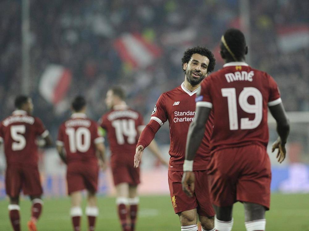 Klopp uses the pace and intelligence of Salah and Mane expertly (AFP/Getty Images)