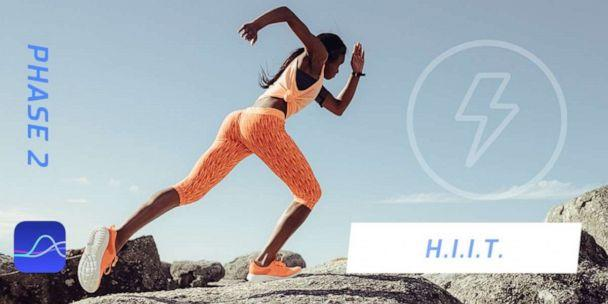 PHOTO: HIIT workouts are recommended in Phase 2, according to FitrWoman. (FitrWoman/Orreco)